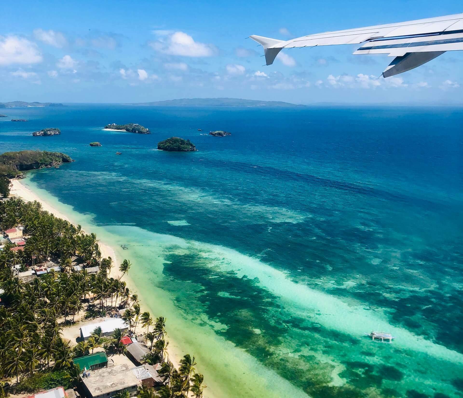 Abflug vom Caticlan Airport Boracay