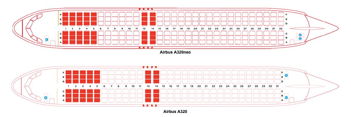 AirAsia A320 & A320neo Hot Seats