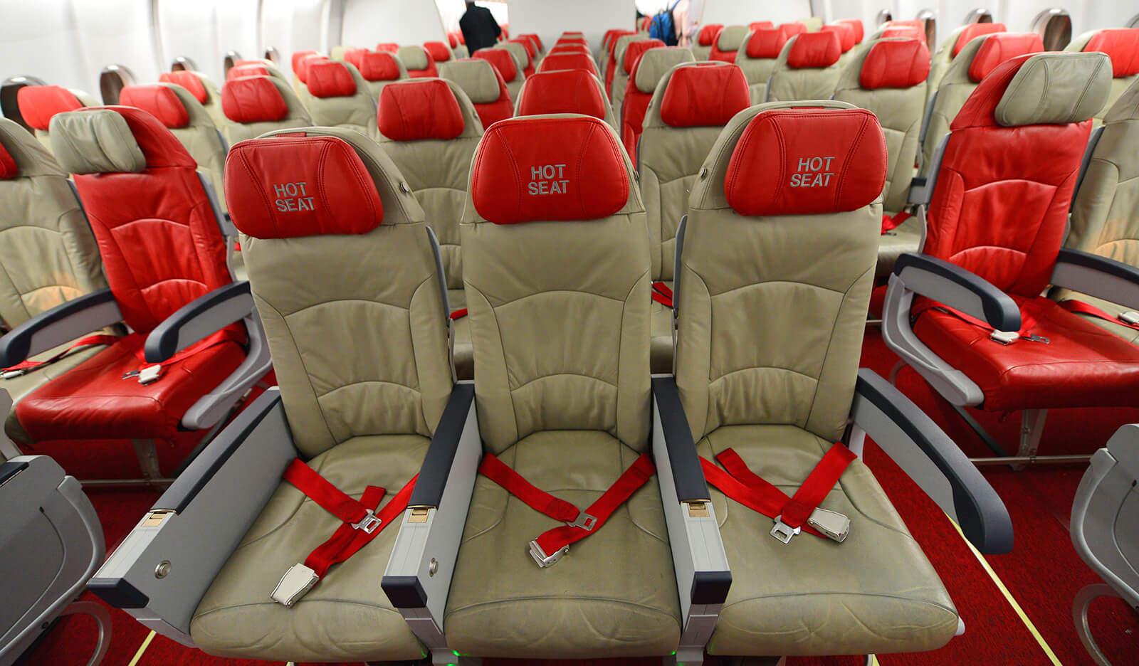 AirAsia Hot Seat Airbus A330 3-3-3