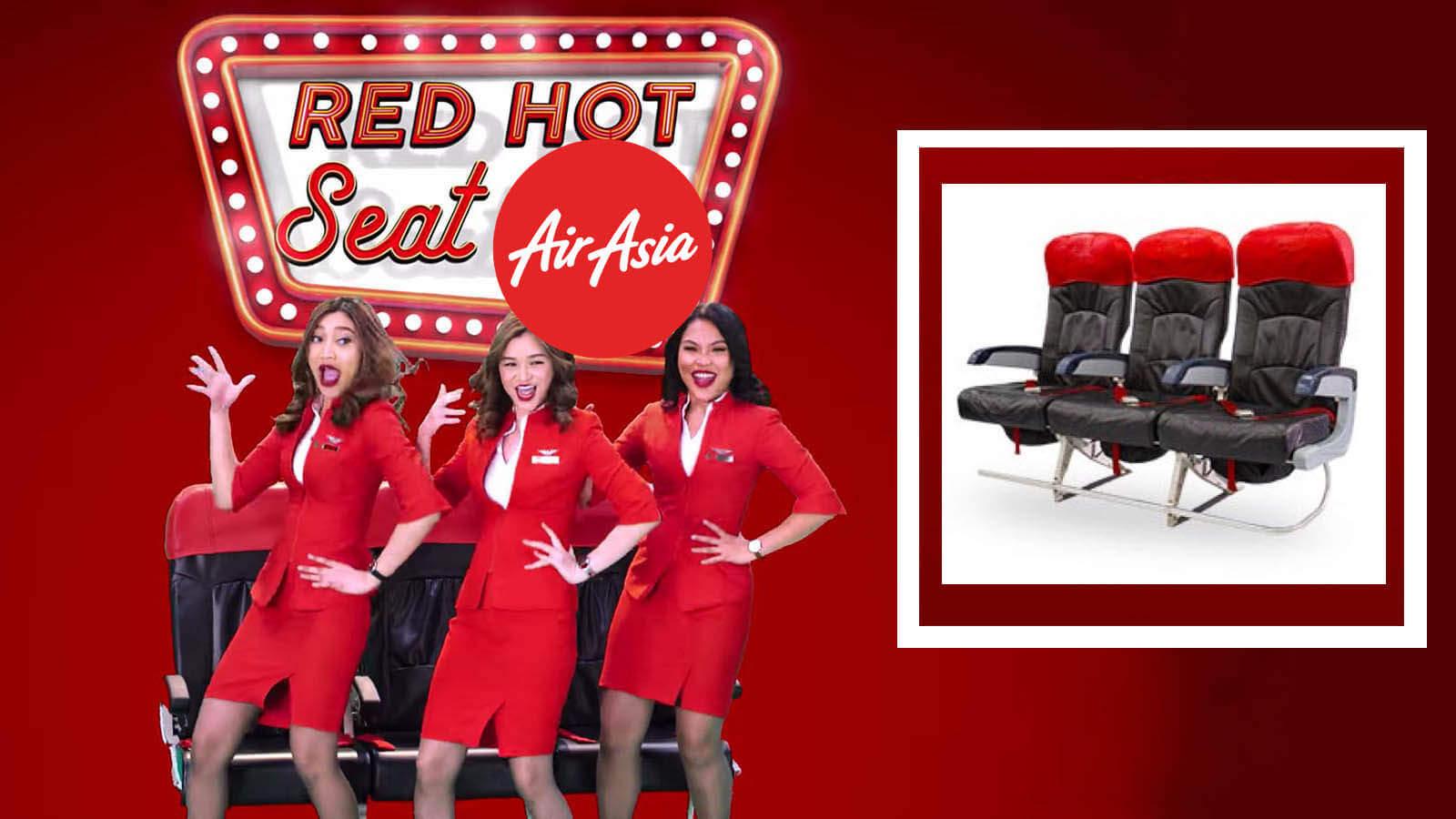 AirAsia Hot Seats Offer