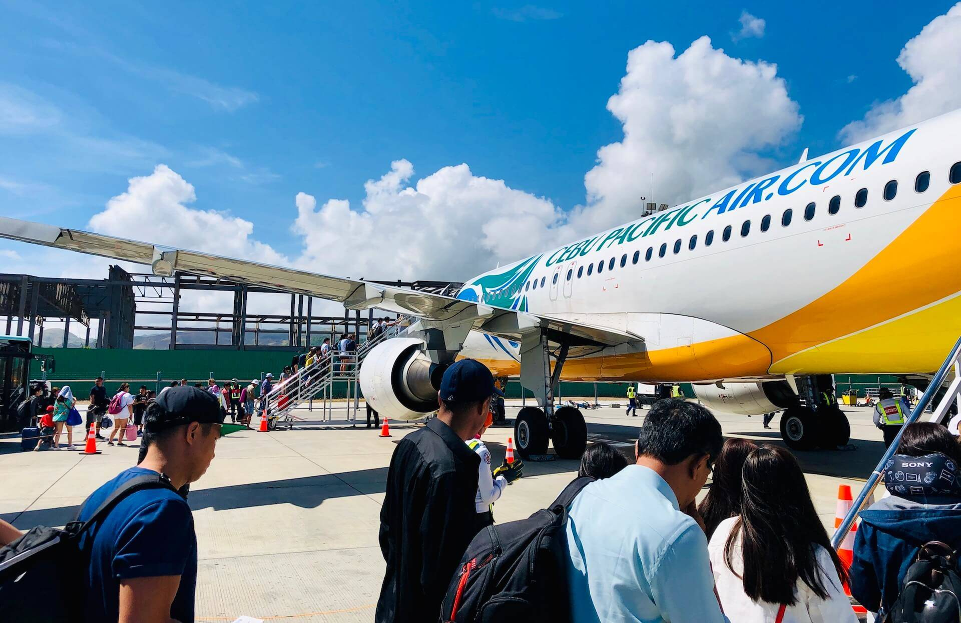 Boarding Cebu Pacific