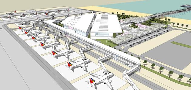 Boracay Airport - Caticlan Finale Ausbaustufe