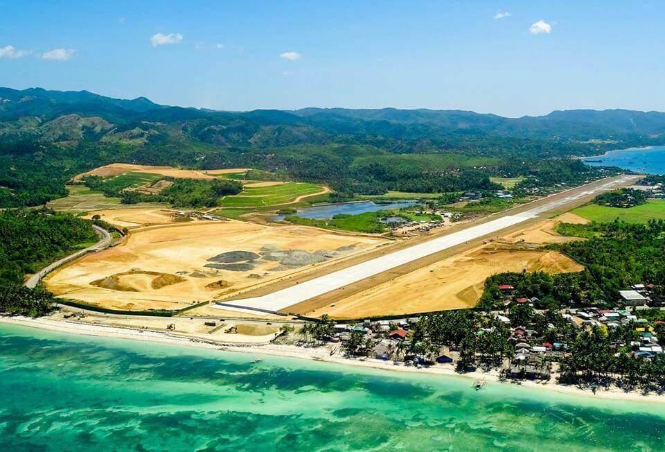 Boracay Airport Ladebahnerweiterung