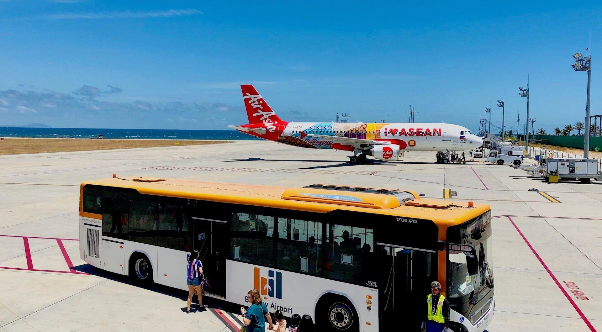 Boracay Airport MPH Bustransfer zum Terminal