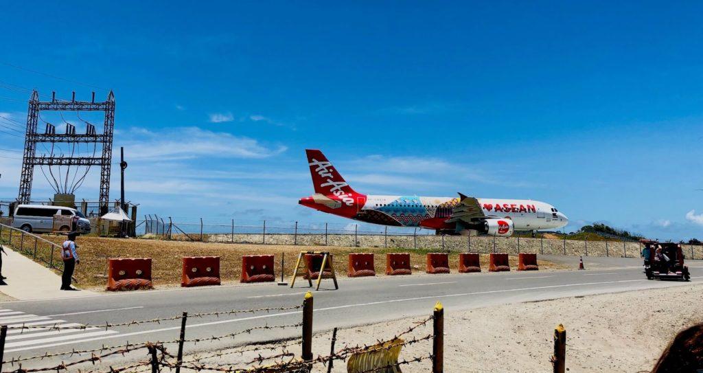 Boracay Caticlan Airport Landebahn Erweiterung Airbus A320 AirAsia