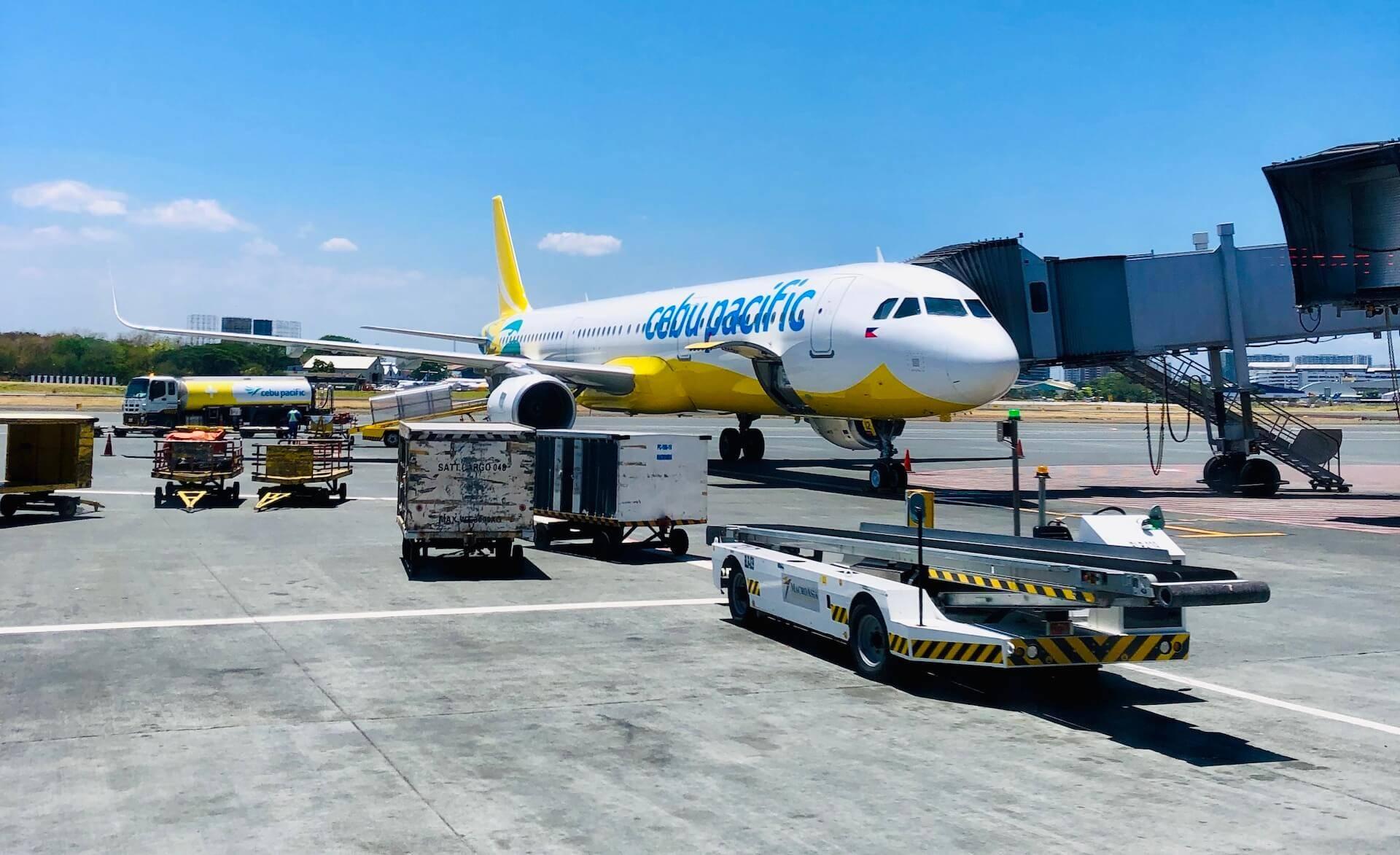 Cebu Pacific Airbus A321 in Manila