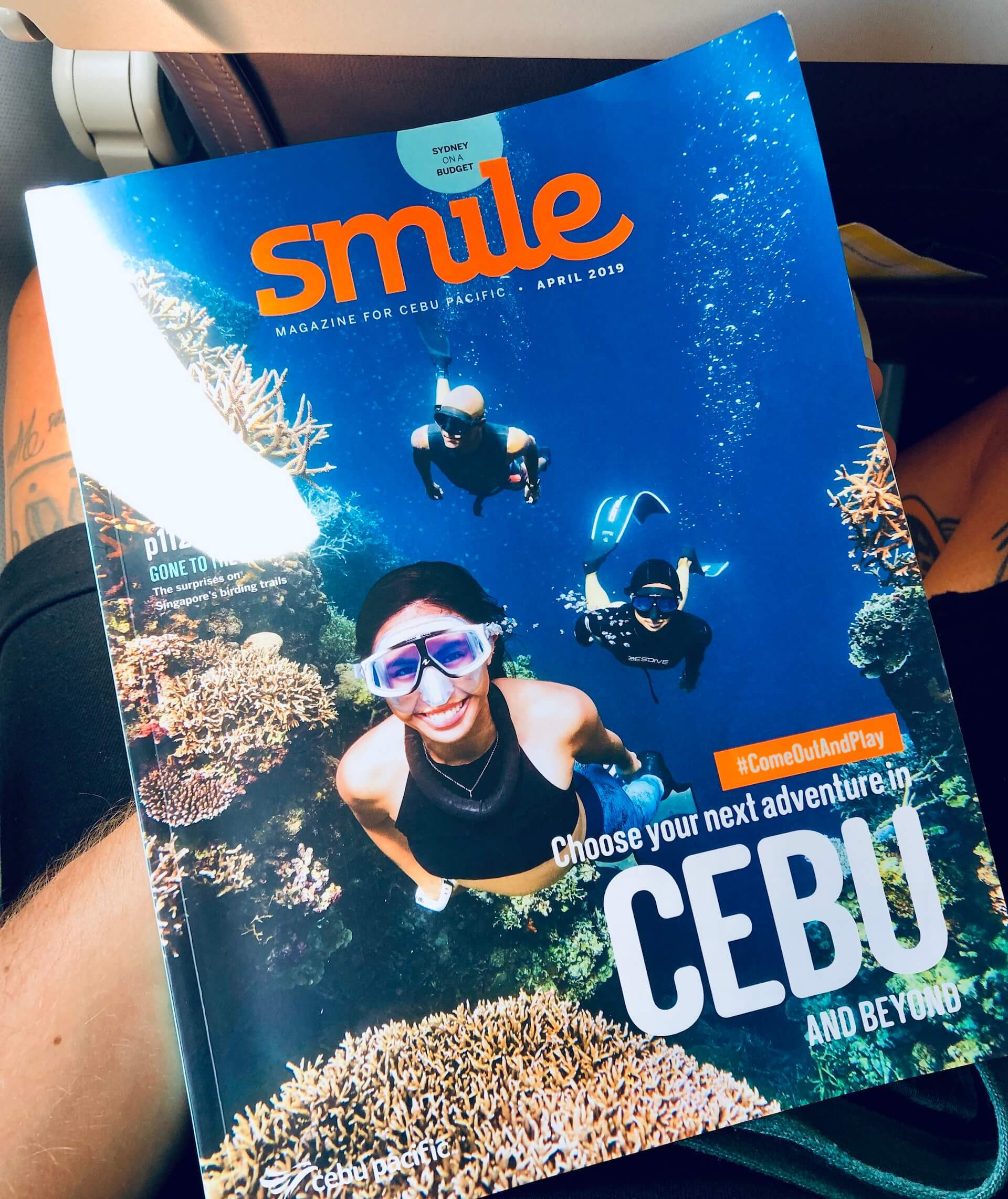 Cebu Pacific Bordmagazin