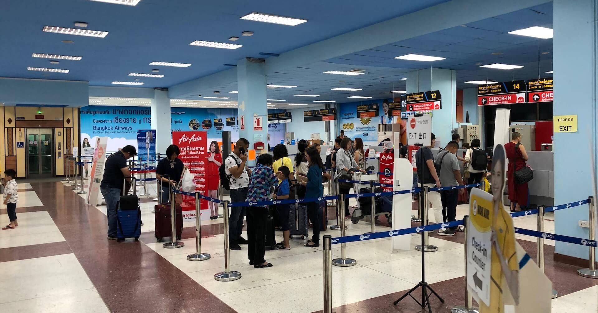 Chiang Rai Airport Check-In