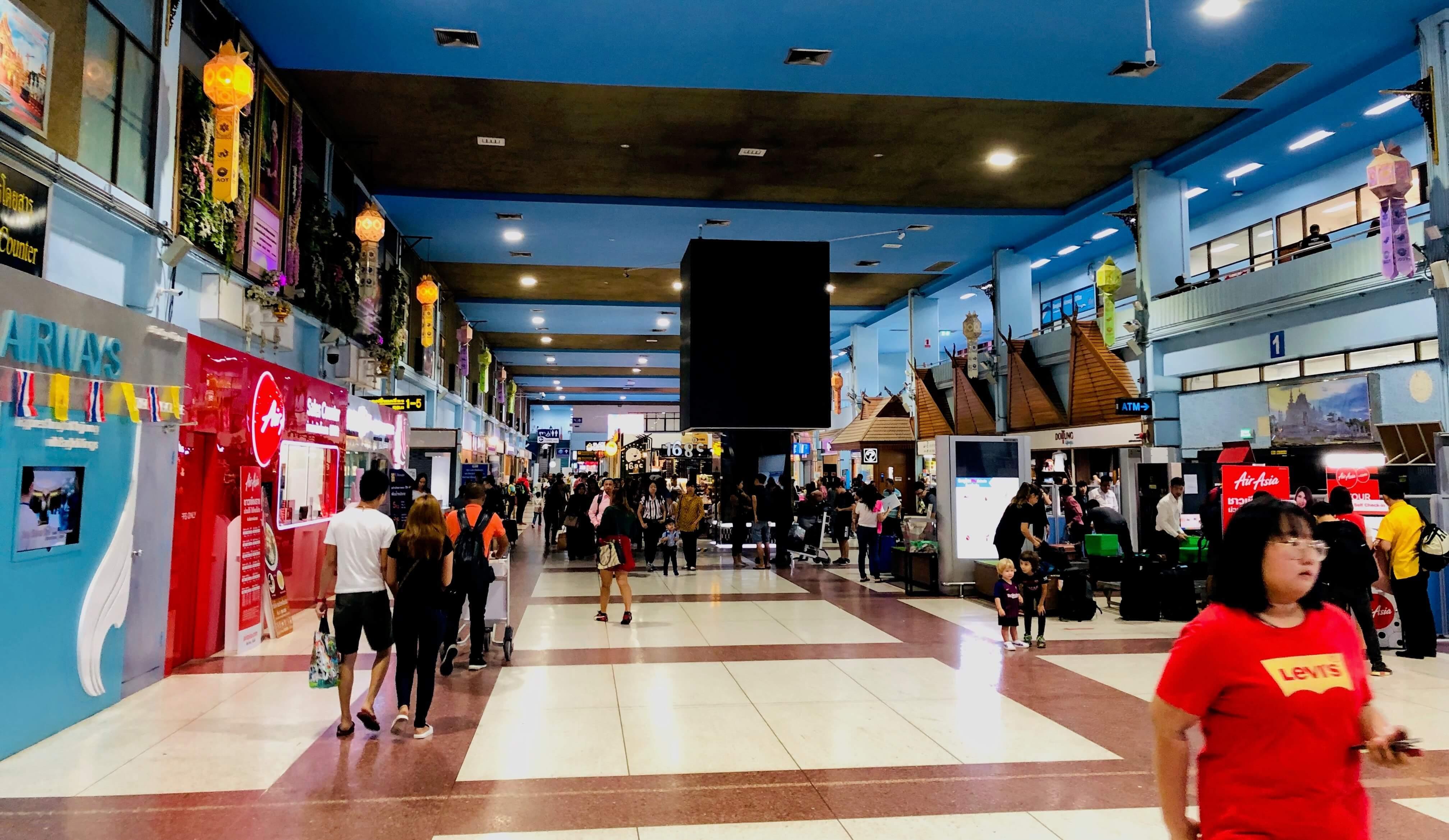 Chiang Rai Airport Terminalhalle