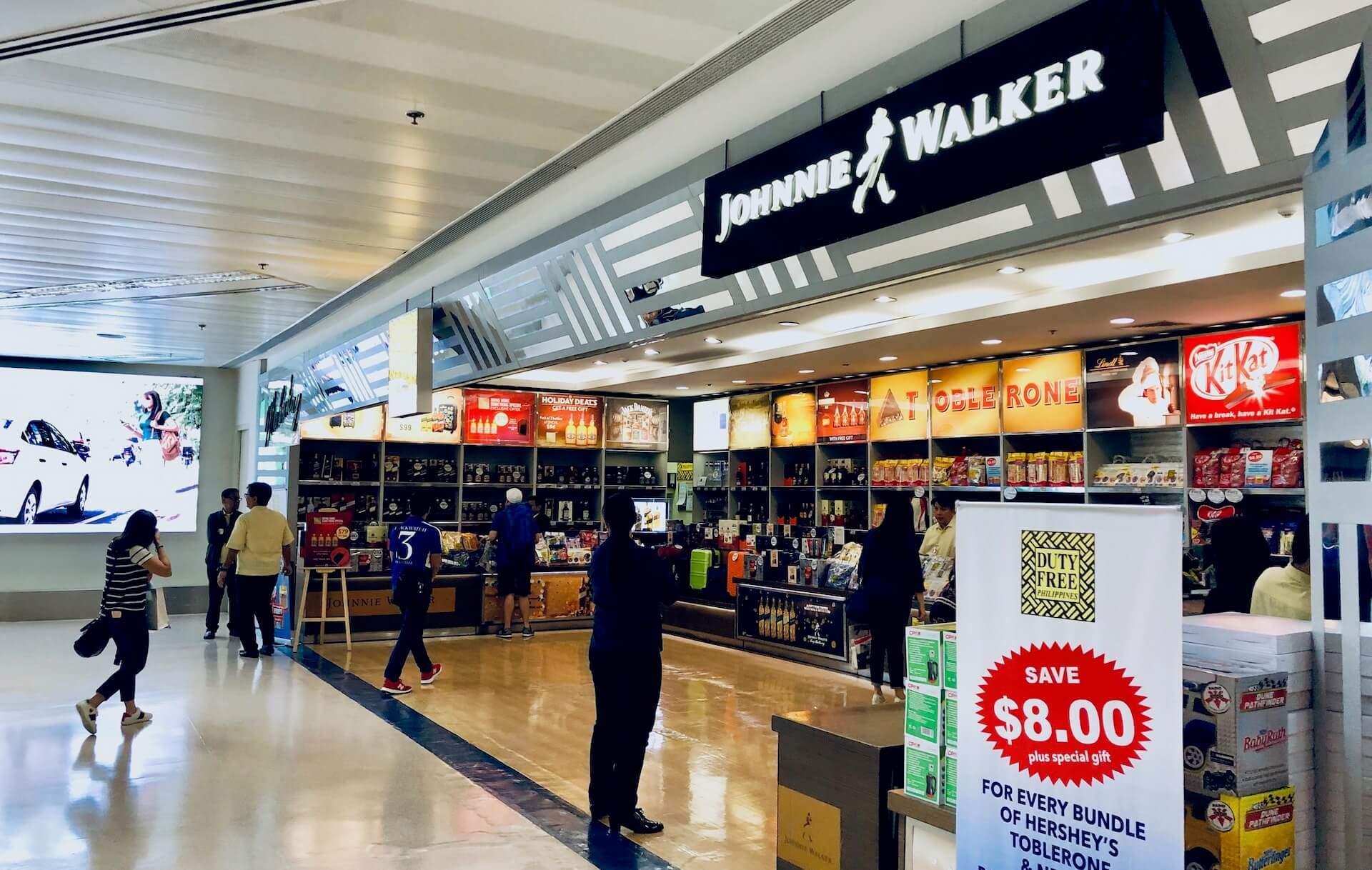Duty Free NAIA Terminal 1 Flughafen Manila