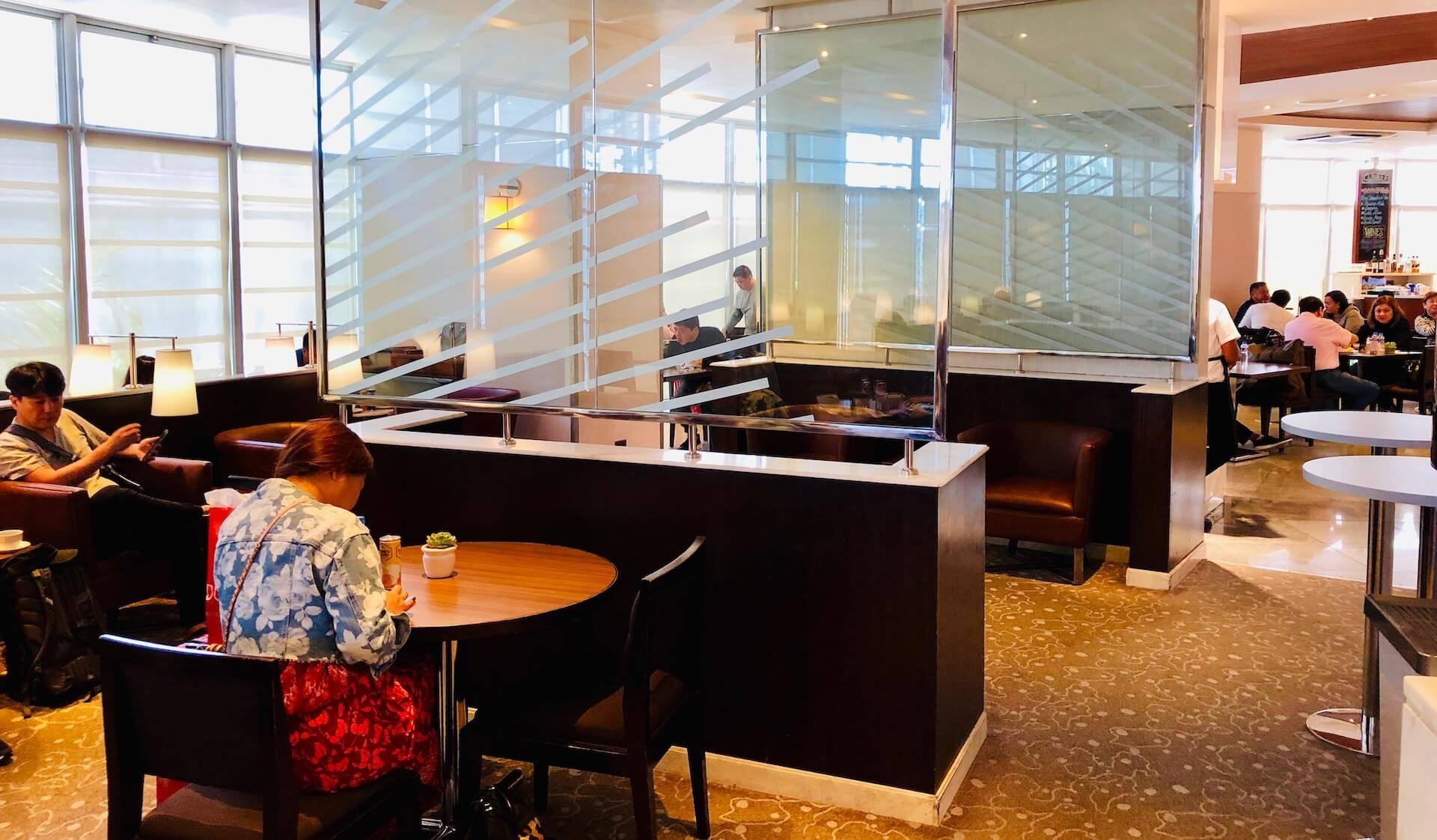 Ess- und Loungebereich Mabuhay Lounge