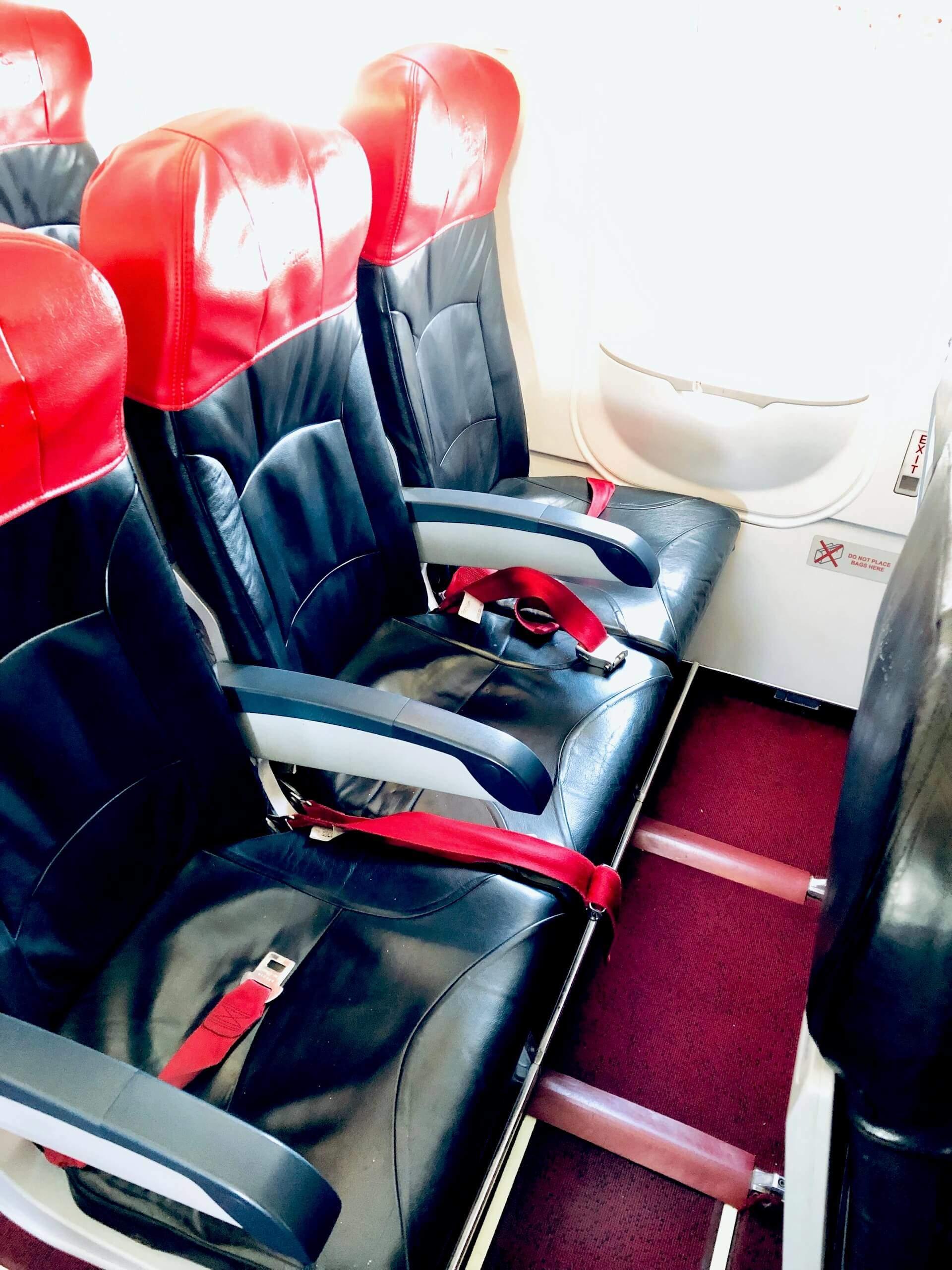 Exit Row Sitze Airbus A320 Philippines AirAsia
