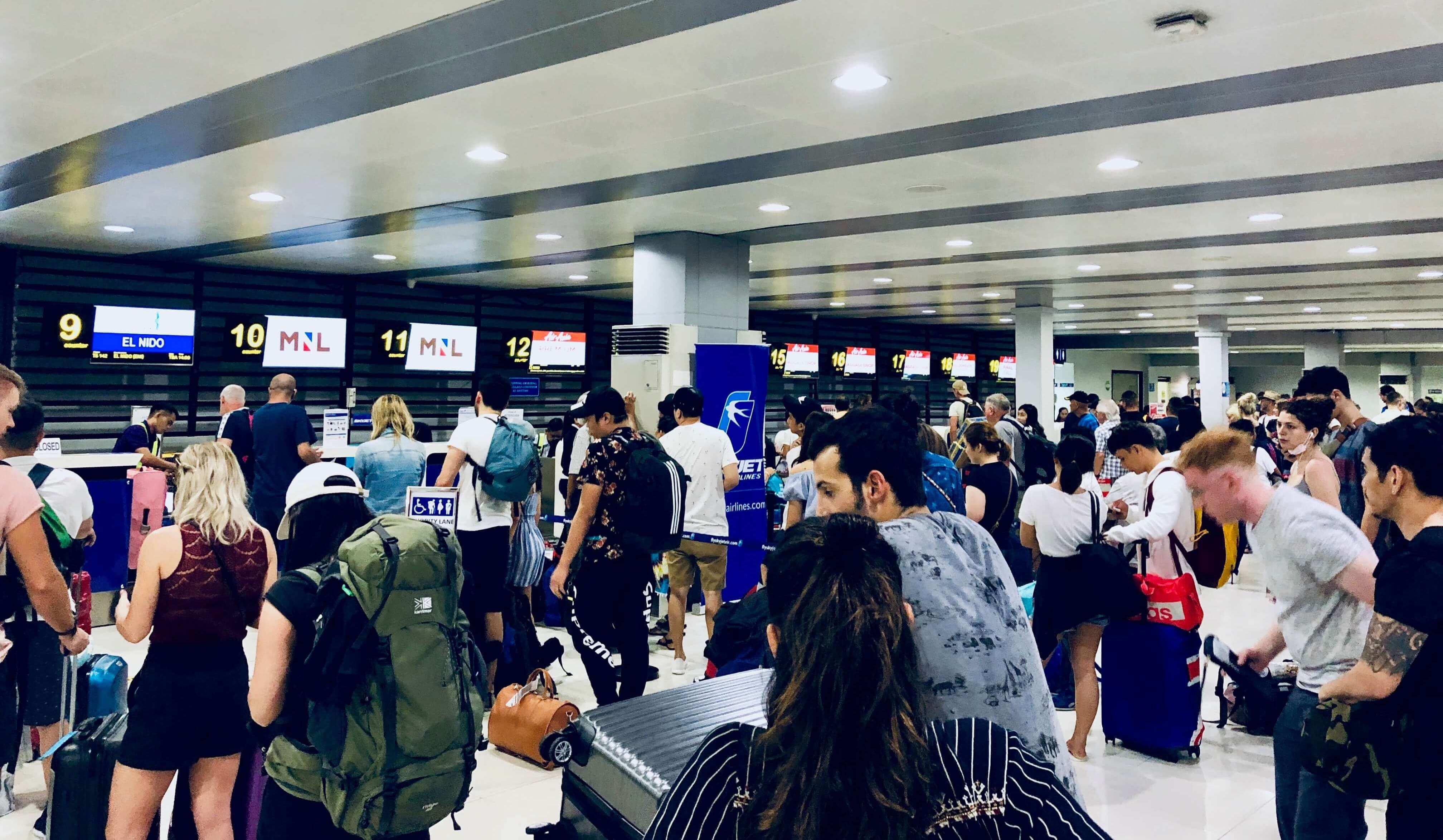 Flughafen Manila Terminal 4