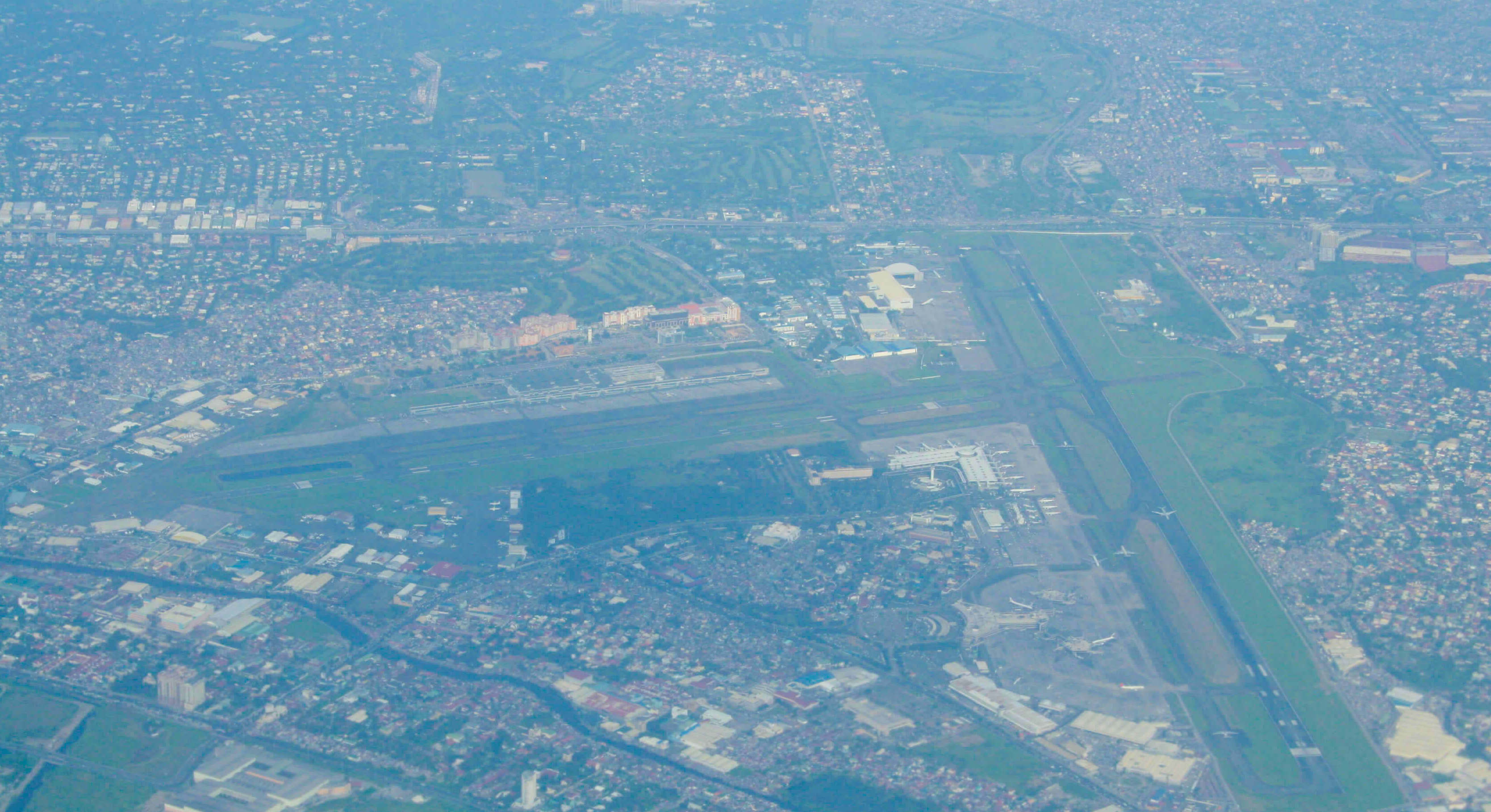 Luftaufnahme Manila International Airport