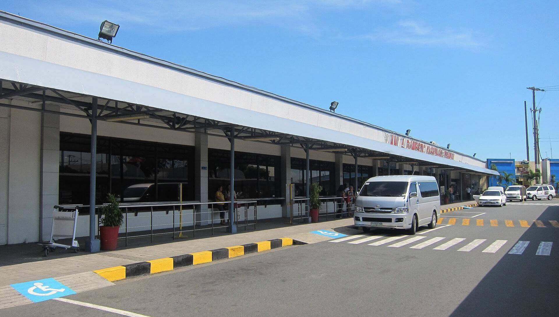NAIA 4 Domestic Terminal Außenbereich