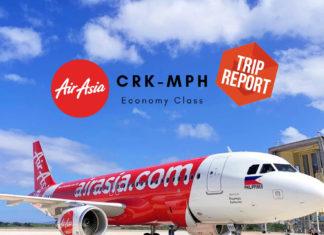 Trip Report Philippines AirAsia Erfahrungen & Test (CRK-MPH) Z2921