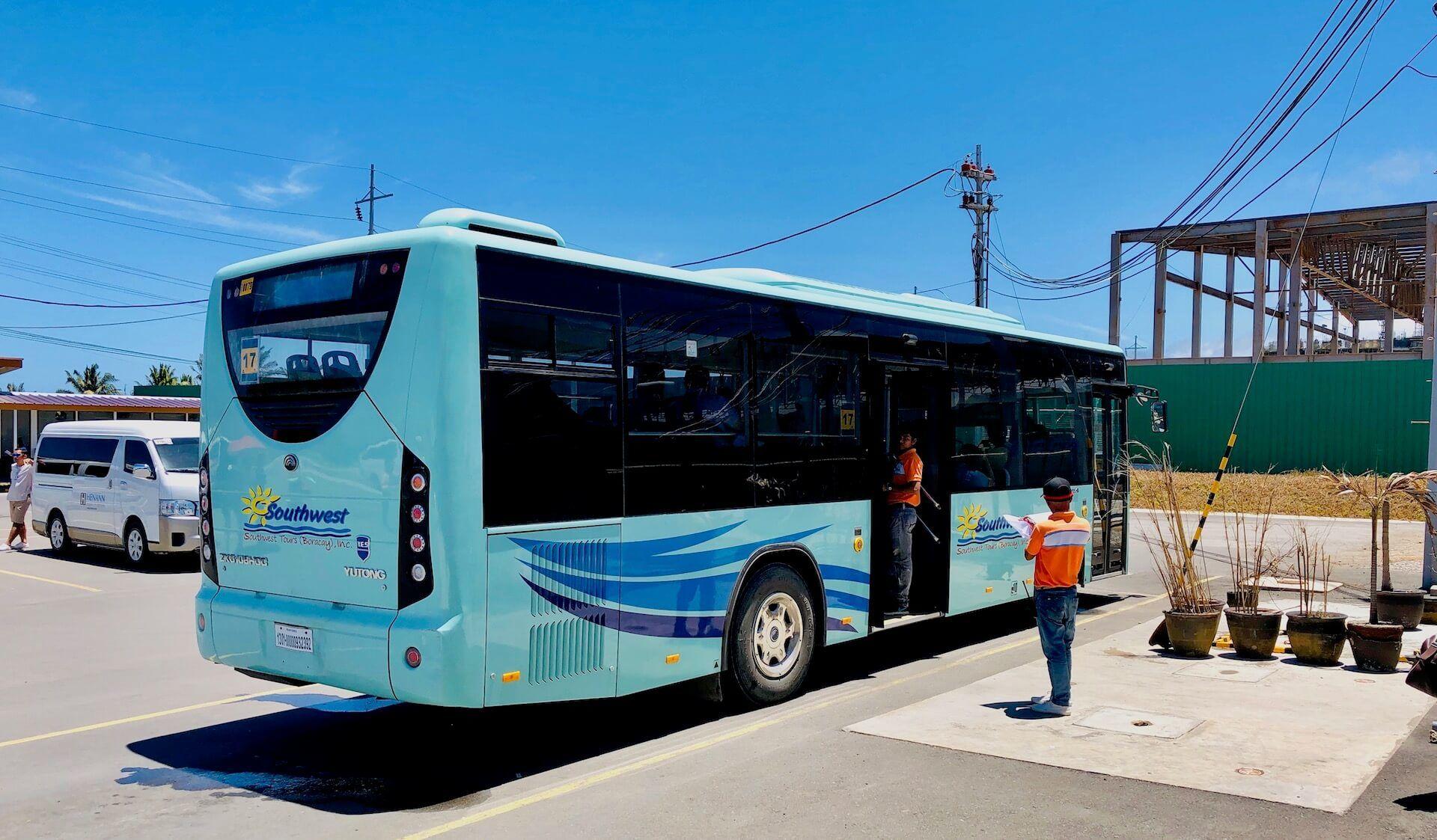 Southwest Airport Bus Caticlan Boracay