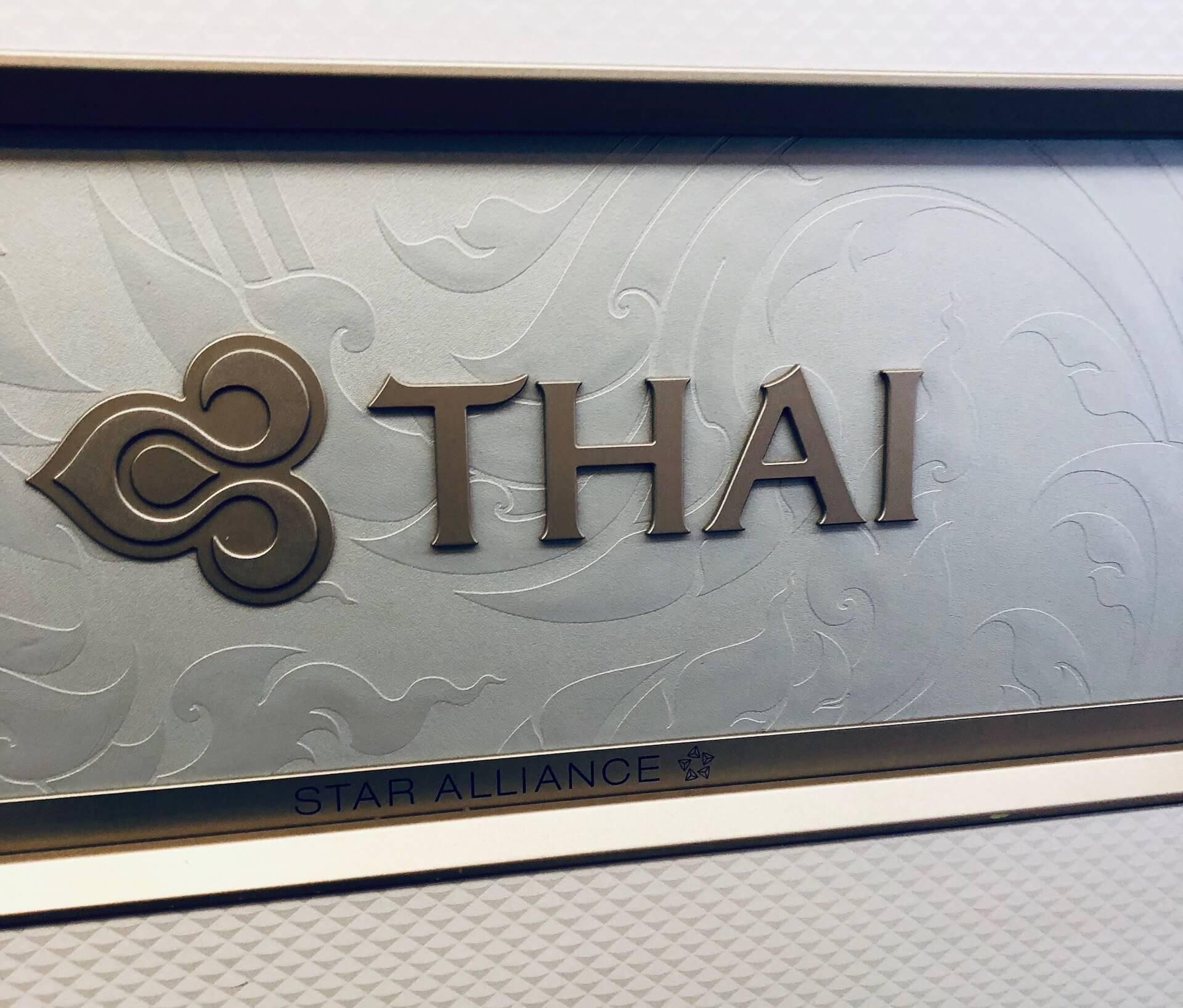 Thai Airways Boeing 777-300ER Einstieg