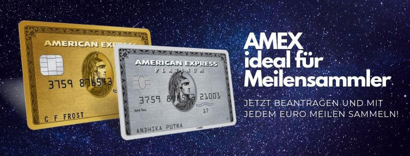 AMEX Meilensammler Banner