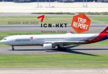 Asiana Business Class Airbus A330 Seoul-Phuket