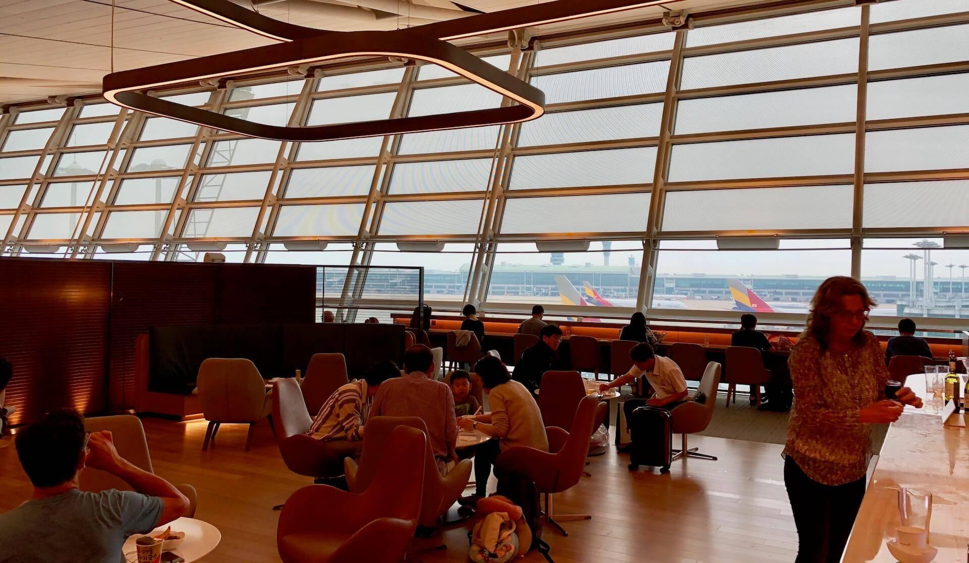 Asiana Lounge Seoul