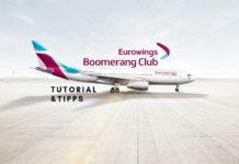 Eurowings Boomerang Club Tutorial Meilen sammeln