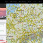Flightradar24 Flugrouten anzeige