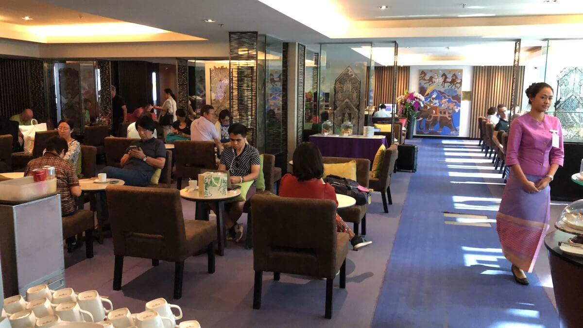 Royal Silk Domestic Lounge Bangkok Bereiche