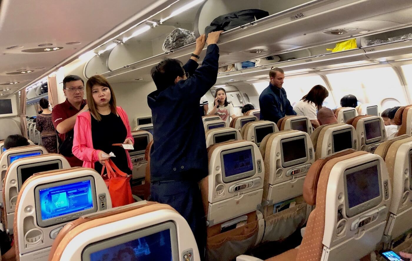 Singapore Airlines A330 Economy