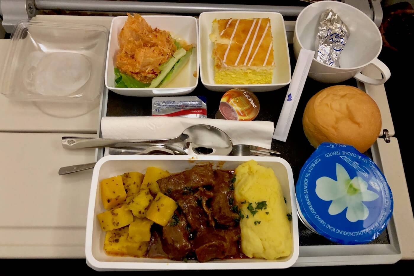 Singapore Airlines Essen BKK-SIN