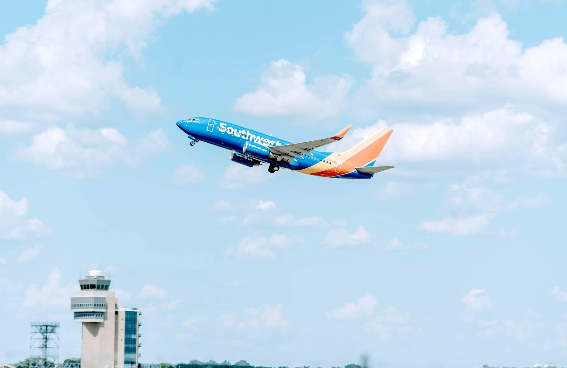 Southwest Airlines Boeing 737 Take Off