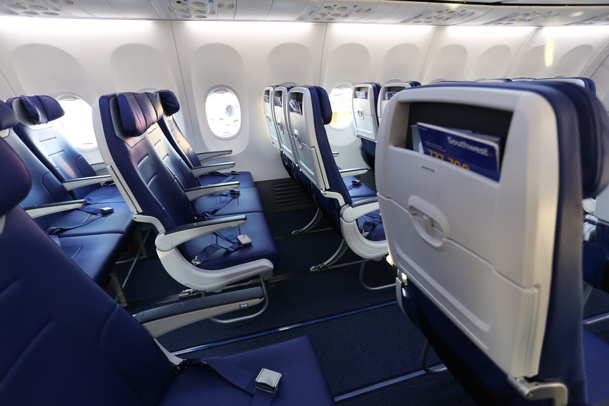 Southwest Airlines Kabine