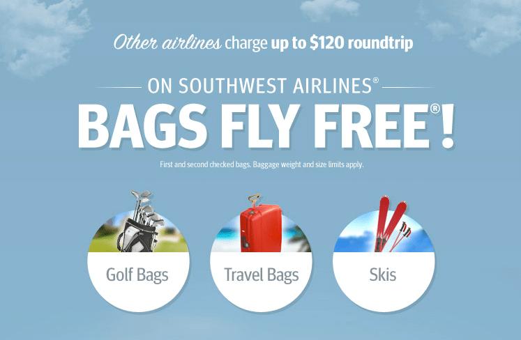 Southwest Free Baggage