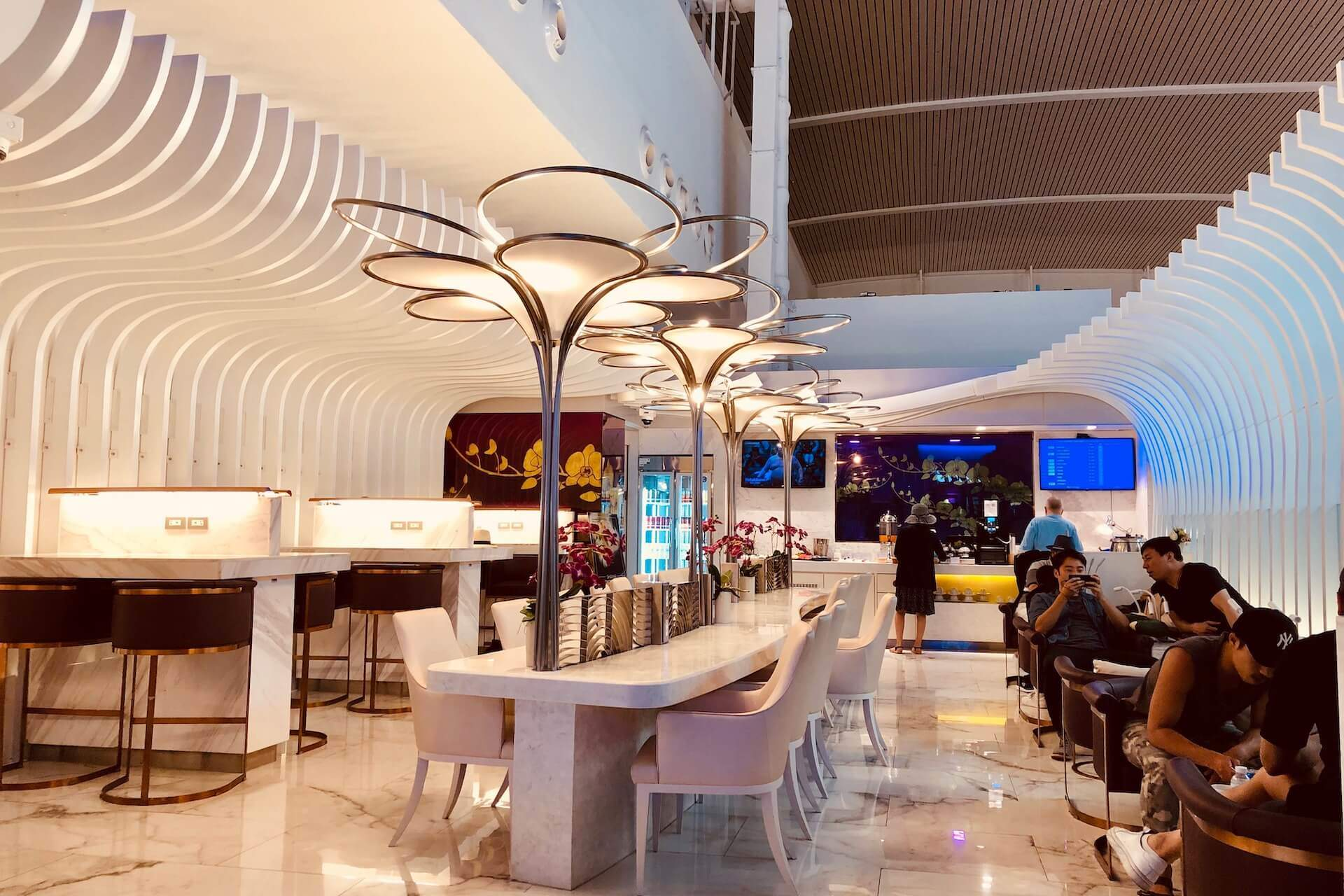 Thai Airways Royal Orchid Business Class Lounge Phuket