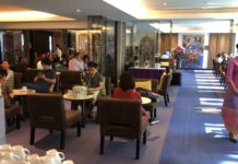 Thai Airways Royal Silk Domestic Lounge Bangkok Test