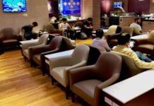 Thai Airways Royal Silk Domestic Lounge Chiang Mai Test