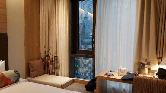 aLoft Hotel Seoul Meyongdong Fensterplatz