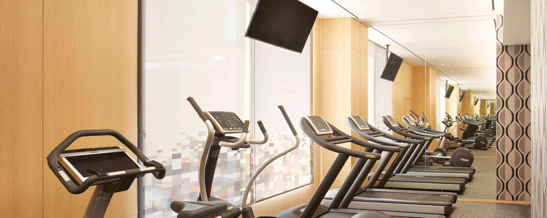 aLoft Hotel Seoul Meyongdong Fitness