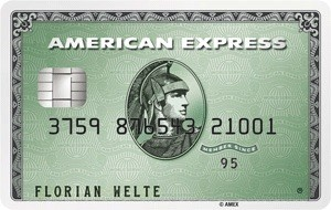 American Express Green