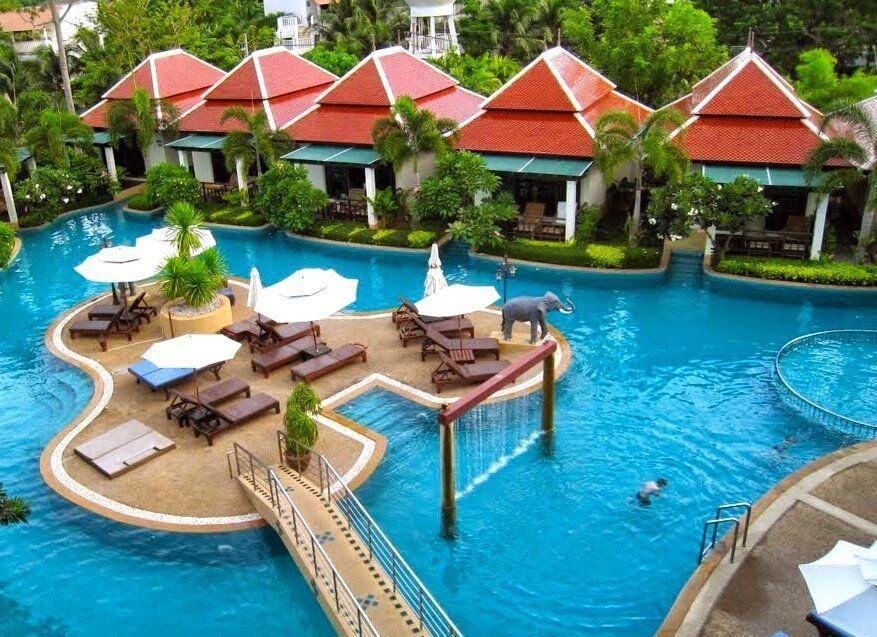 Ao-Nang Orchid Resort Pool Landschaft