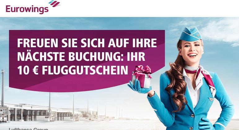 Eurowings-Gutschein-Mail zum Geburtstag