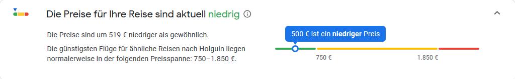 Google-Flug-Frankfurt- Kuba