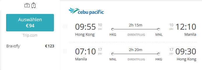 Hong-Kong-HKG-MNL-Ceb