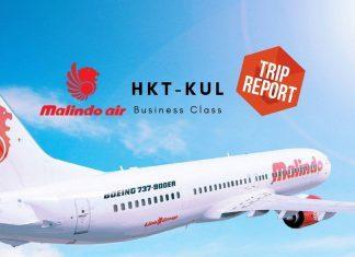 Malindo Business Class Boeing 737-800 Phuket nach Kuala Lumpur