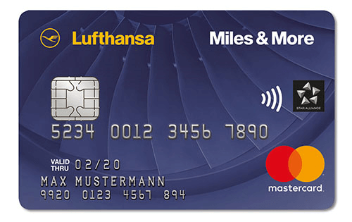 Miles and More Blue Mastercard