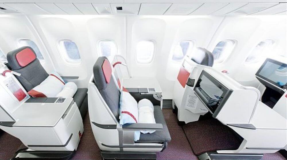 Austrian Business Class Boeing 767