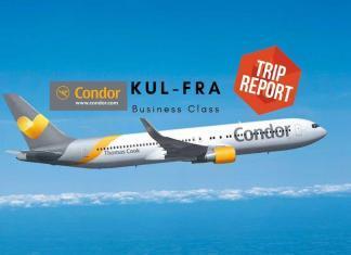 Condor Business Class Boeing 767 Kuala Lumpur - Frankfurt