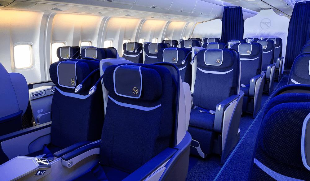 Condor Business Class Kabine Boeing 767