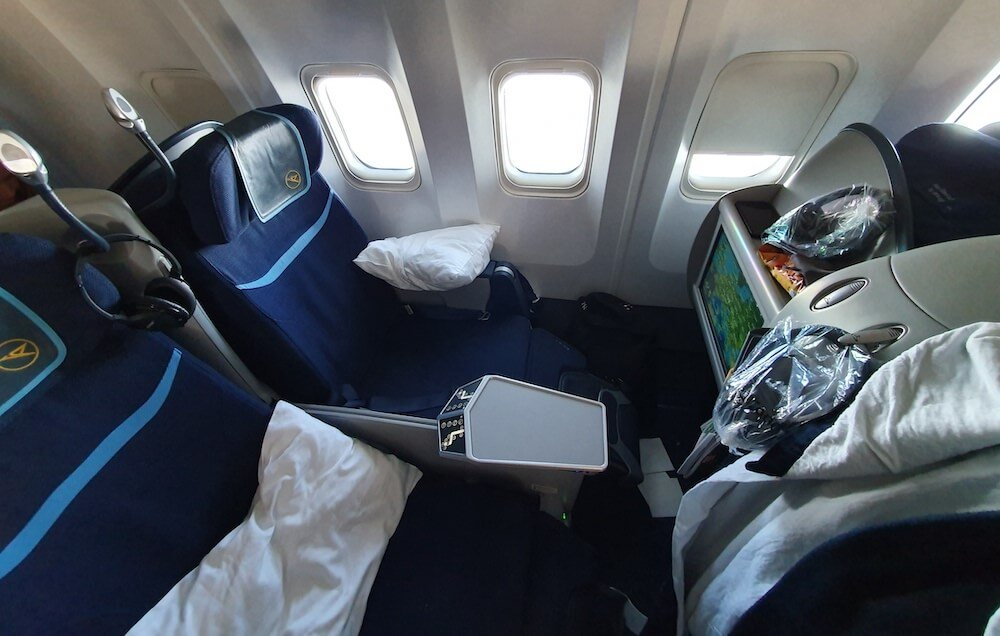 Condor Business Class Sitz Boeing 767