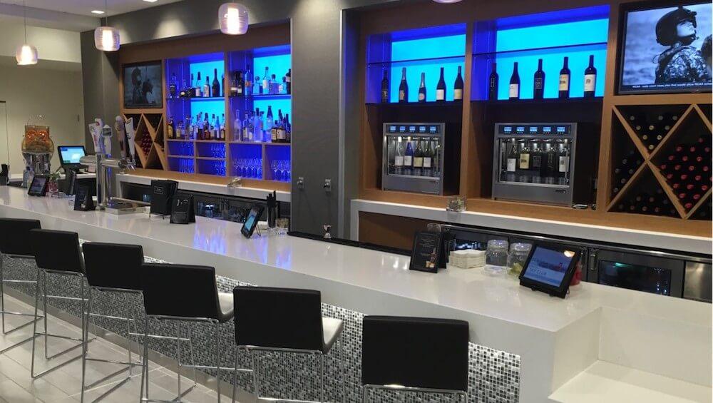 Delta Skyclub Lounge